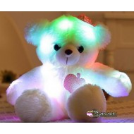 "OURS  teddy PELUCHE "" MULTI COLOR ""fille"