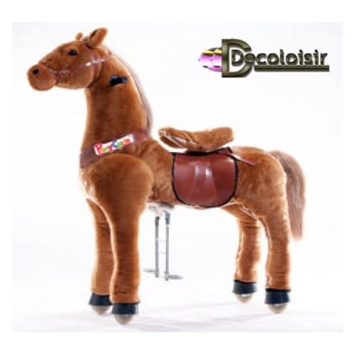 CHEVAL PONYCYCLE marron-GRAND