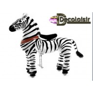 CHEVAL PONYCYCLE ZEBRE-GRAND