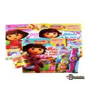 pochette enfant lot 3 livres DORA + 2 jouets