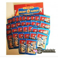 "ALBUM PANINI  ""MICKEY  DONALD """